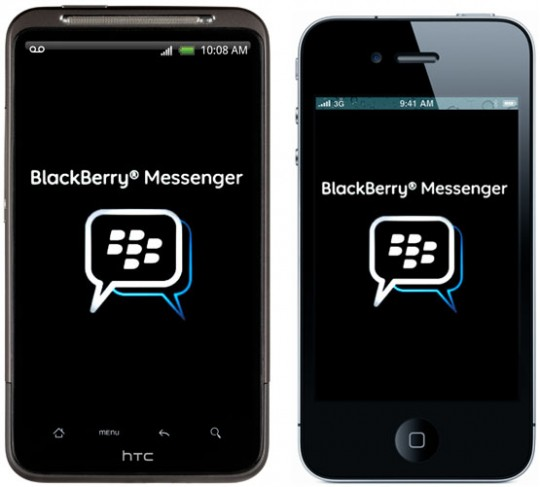Blackberry Messenger se abre a iOS y Android